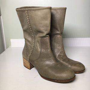 Banana Republic Mid Calf Leather Boots